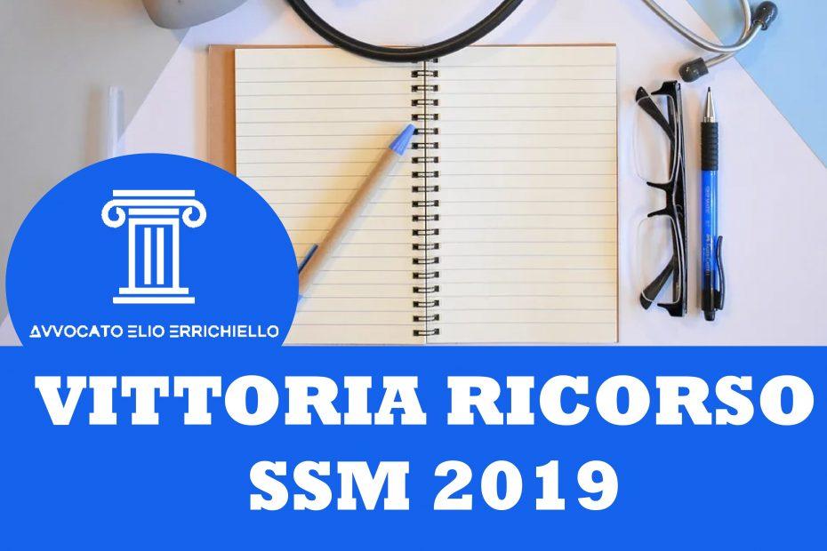 Vittoria Ricorso SSM 2019 | Scuole di specializzazione 2018/19