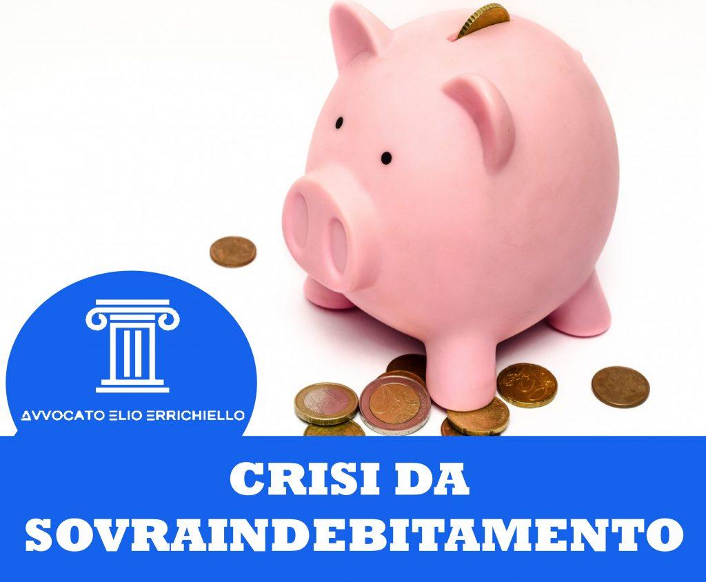 debiti crisi da sovraindebitamento avv. elio errichiello