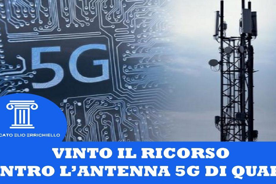 Vinto il ricorso contro antenna 5G di Quarto